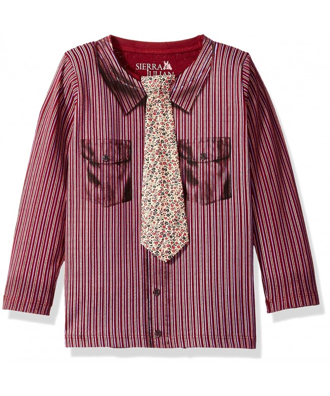 SIERRA JULIAN Boys Sleeve Shirt