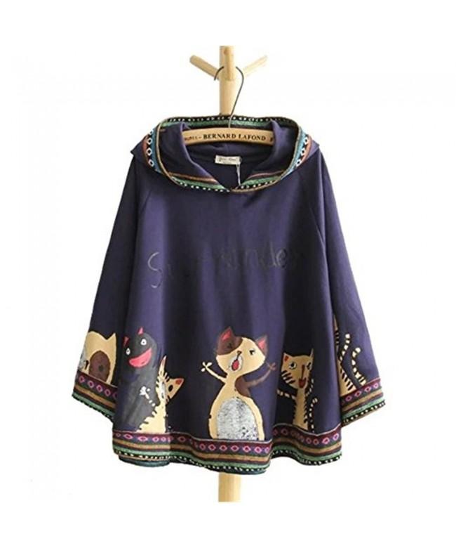 Autumn Japanese Cartoon Hoodies Outerwear