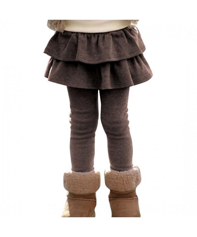 EGELEXY Girls Cotton Skirted Leggings