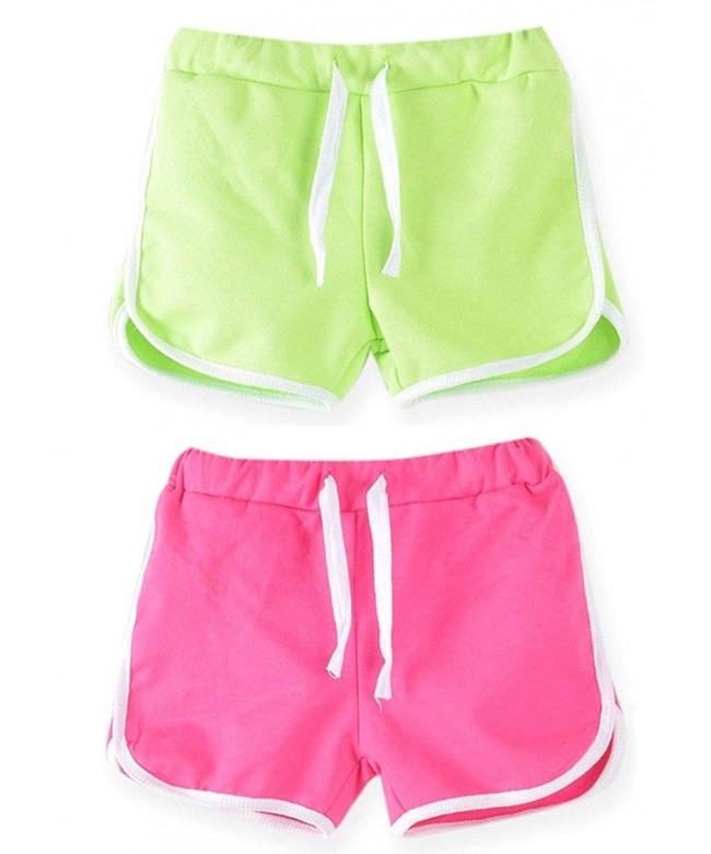 Syleia Girl Shorts Bright Green