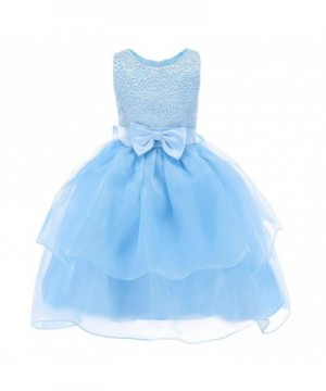 Fiream Dresses Sleeveless Princess Pageant
