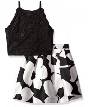 Amy Byer Girls 2 Piece Dress