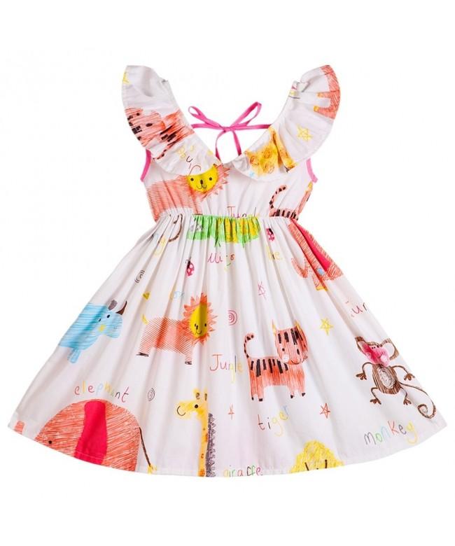 Kseniya Kids Little Dresses Animal