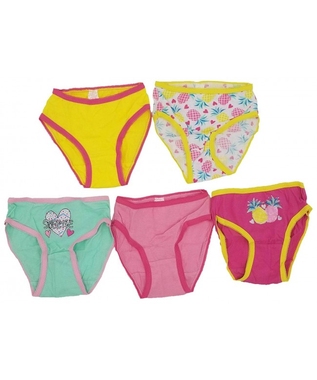 Underwear Colorful Printed Children Pineapples