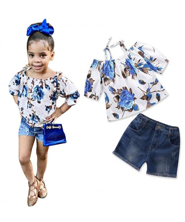 UNIQUEONE Toddler Shoulder T Shirt Clothes
