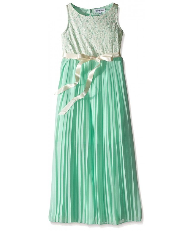 Emerald Sundae Girls Pleated Dress