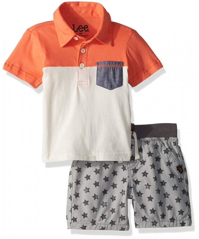 Baby Boys Short Sleeve Shirt