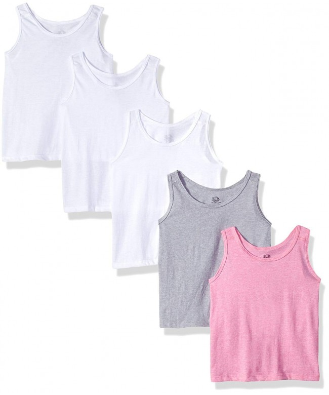 Fruit Loom Girls Assorted Tank