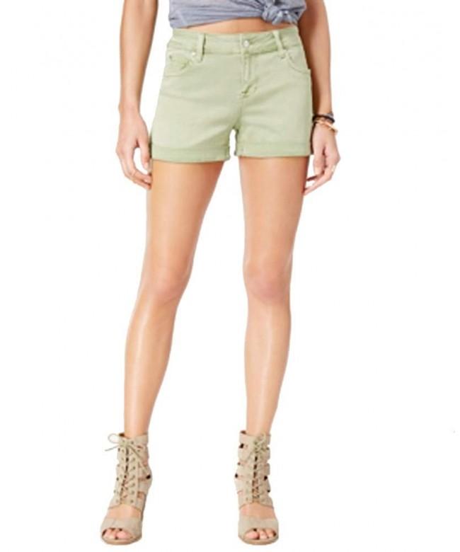 Celebrity Pink Juniors Cuffed Shorts