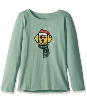 Life Good Sleeve Holiday T Shirt