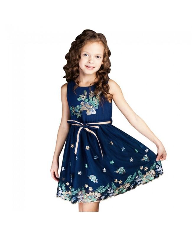 Chndkny childdkivy Flower Elegant Clothing