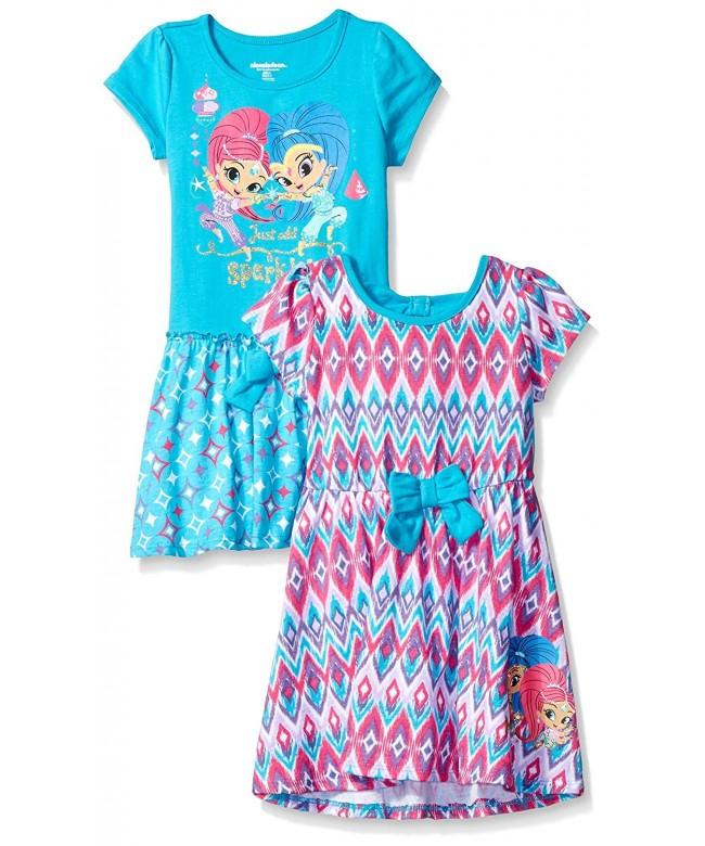 Nickelodeon Girls Little Shimmer Dress