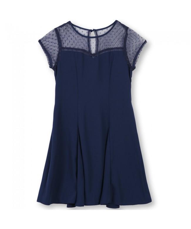 Speechless Girls Illusion Dooby Dress