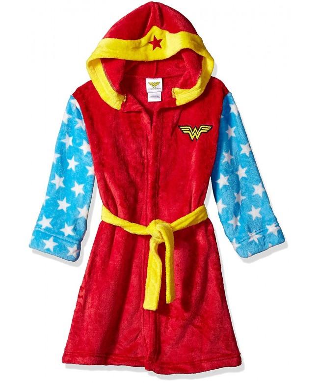 Wonder Woman Girls Hooded Robe