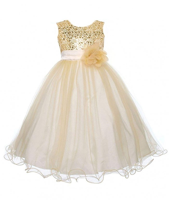 Sequin Tulle Special Occasion Holiday