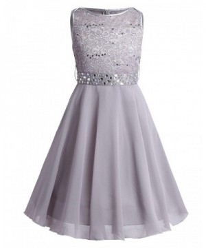 iEFiEL Sequined Princess Pageant Bridesmaid