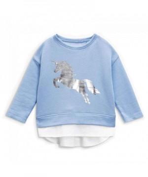 Sweatshirt Toddler Unicorn Crewneck T Shirts