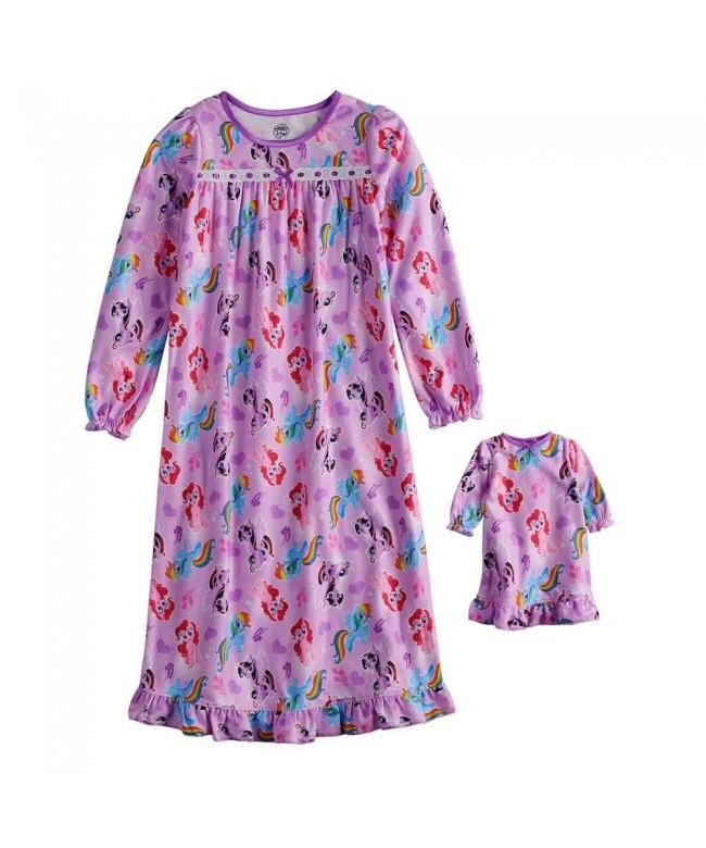 Twilight Sparkle Rainbow Flannel Nightgown