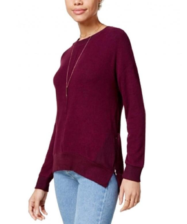 Hippie Rose Juniors Side Zip Sweatshirt