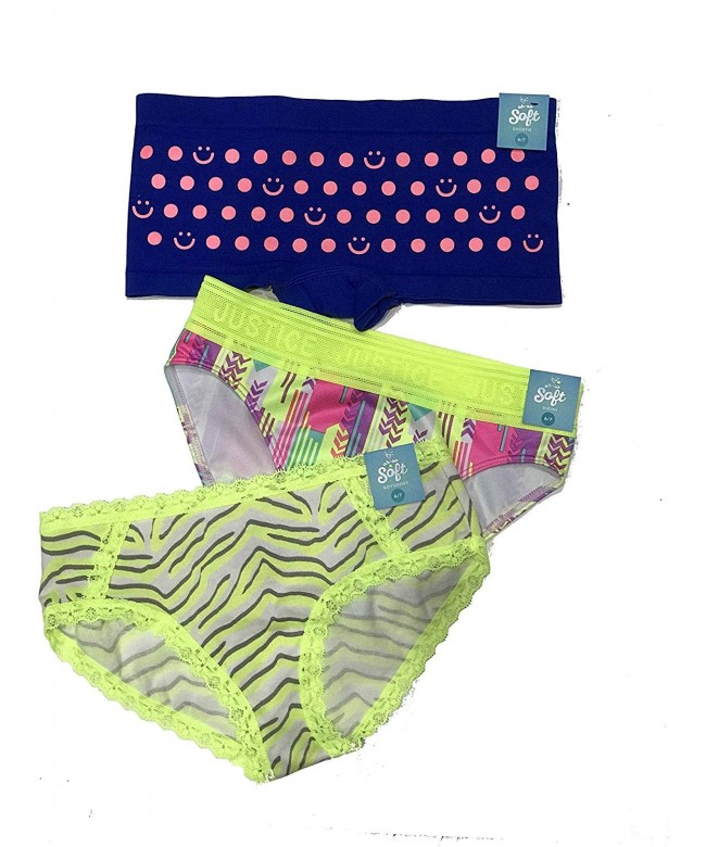 Justice 3 Pack Panty Size Small