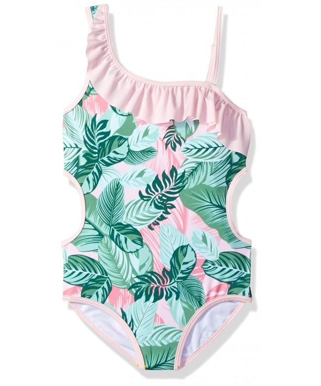 Jantzen Tropicana Girls Ruffle Swimsuit