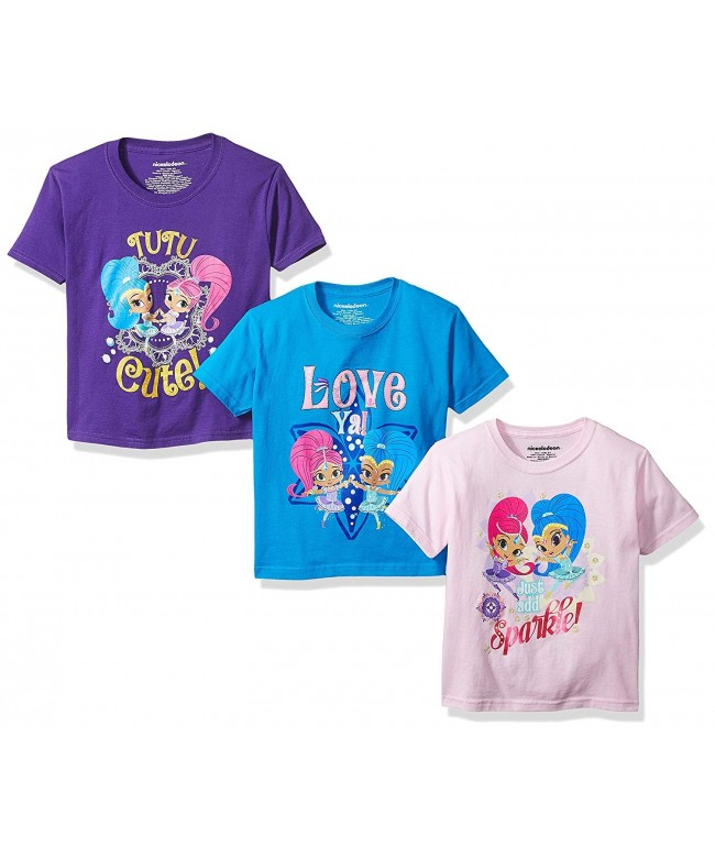 Nickelodeon Girls 3 Pack Sleeve T Shirt