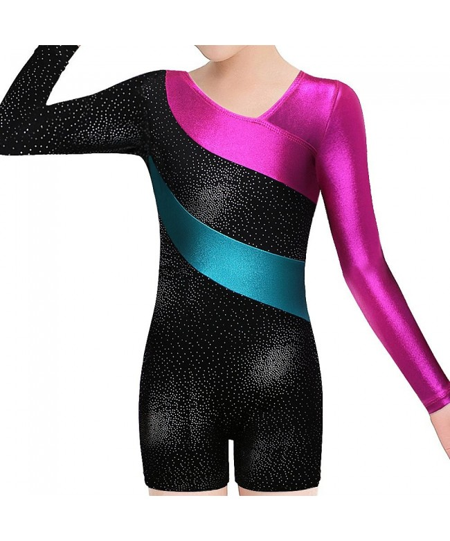 BAOHULU Leotard Gymnastics Toddler Biketards