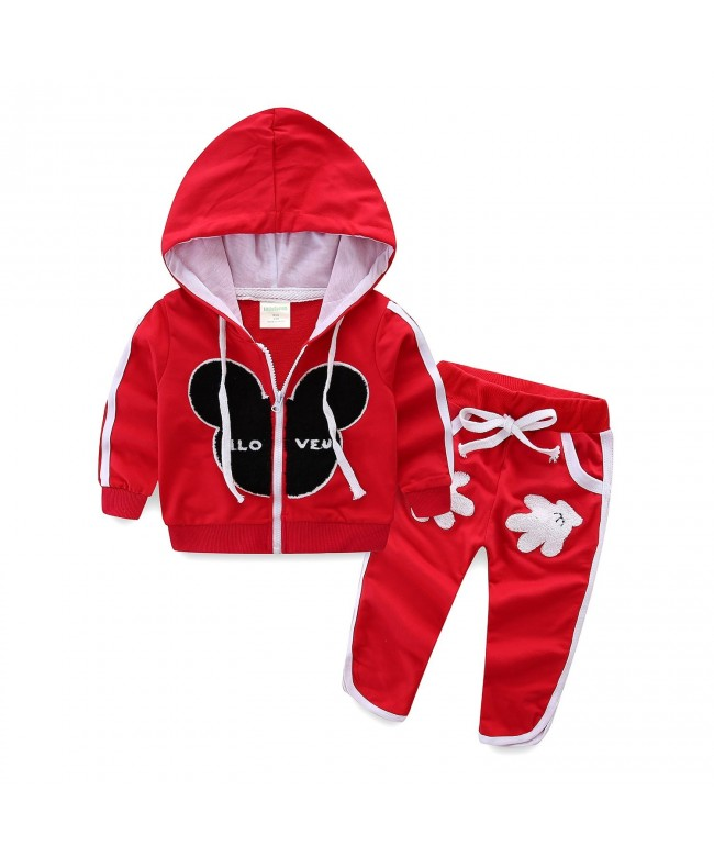 Mud Kingdom Outfits Cartoon Hoodies