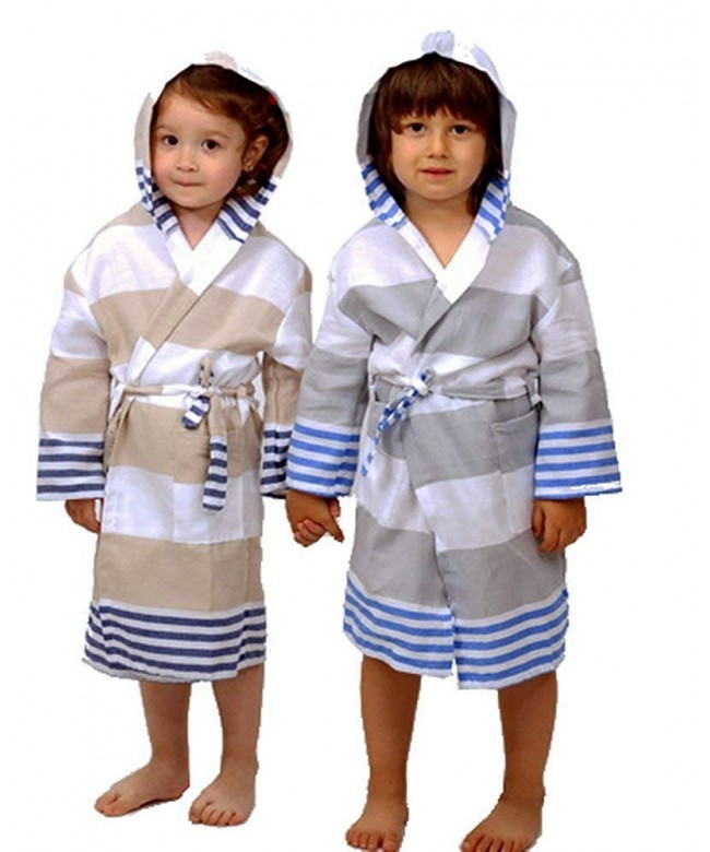 Azure Classic Peshtemal Bathrobe Collection