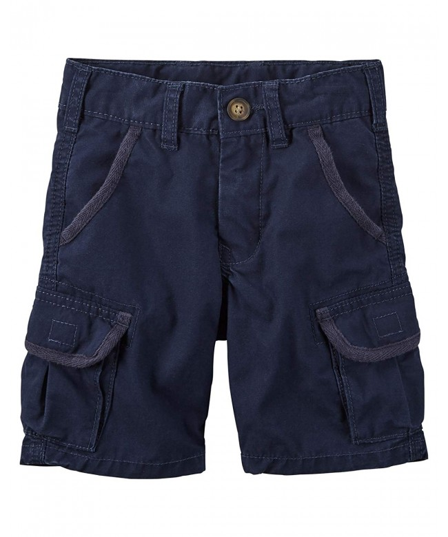 Carters Navy Blue Cargo Shorts