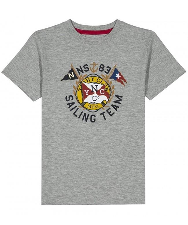 Nautica Sleeve Sailing Graphic T Shirt