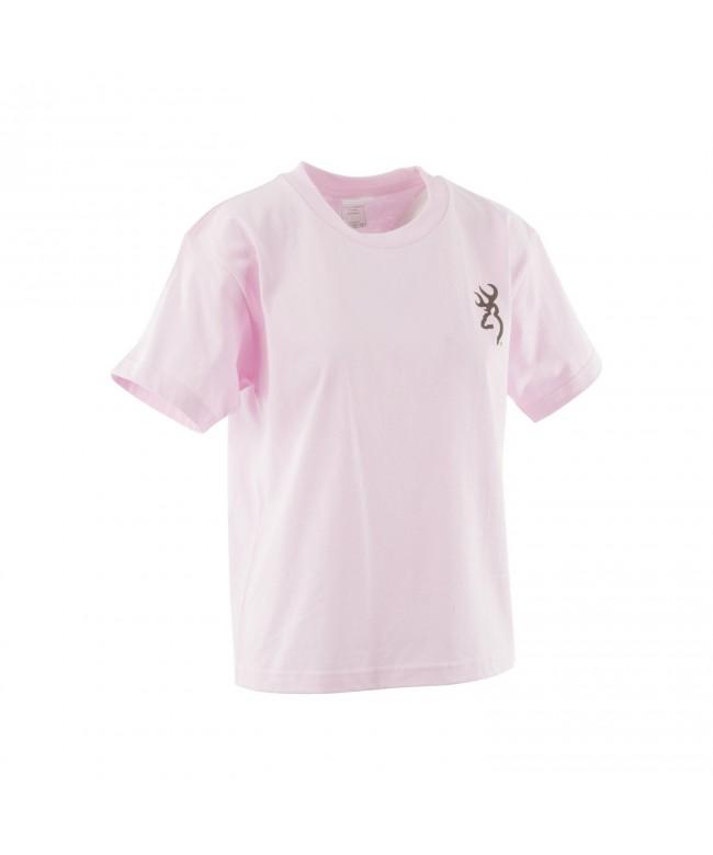 Browning Youth Buckmark T Shirt Light