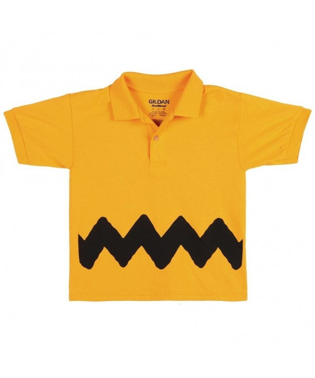 Peanuts Charlie Brown Youth Polo