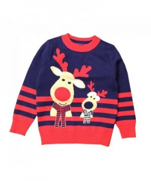 Anbaby Childrens Double Deck Christmas Pullover