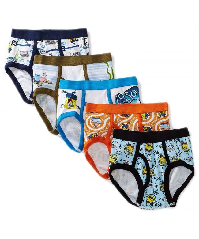 Nickelodeon Little Boys SpongeBob Brief