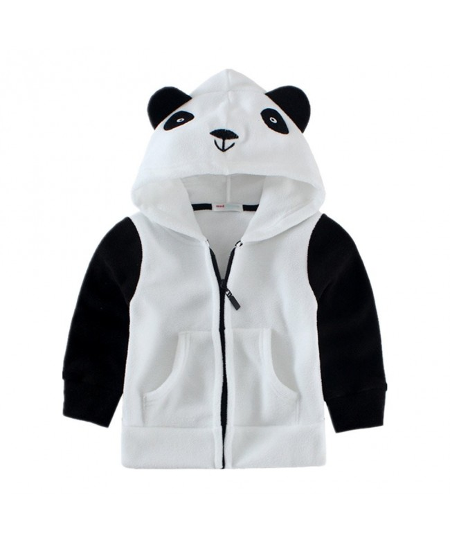 LittleSpring Fleece Hooded Jacket Animal