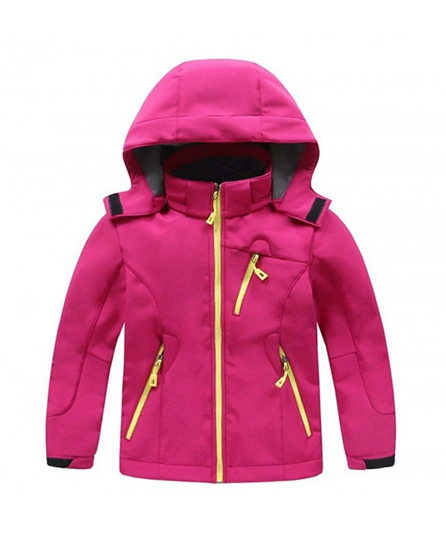 LANBAOSI Winter Fleece Softshell Hoodies