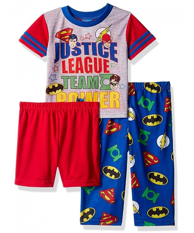 Justice League Toddler 3 Piece Pajama