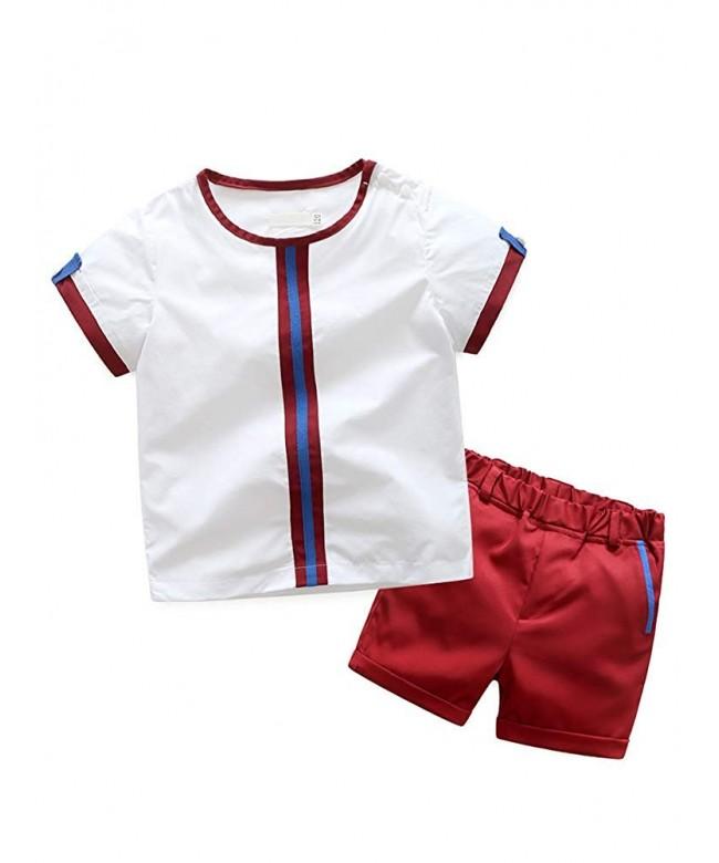 Abolai Toddler Clothing Sleeve Shorts