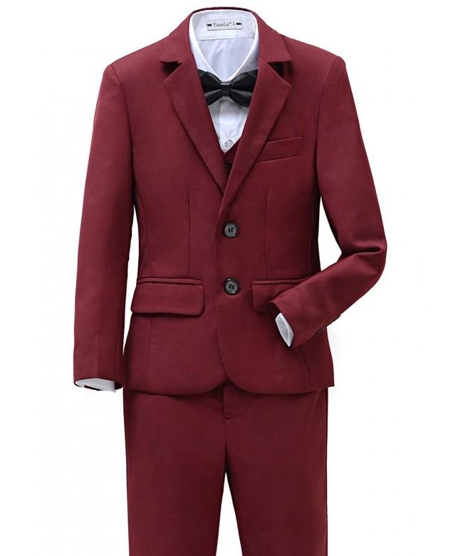 Yanlu Suits Piece 2T 14 Burgundy