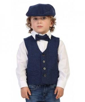 Gioberti Boys Tweed Vest Matching