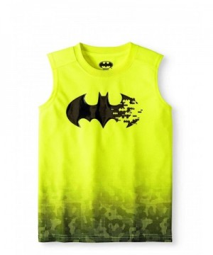 Fashion Batman Yellow Sleeveless Muscle