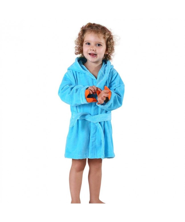MICHLEY Cotton Animal Dinosaur Bathrobe