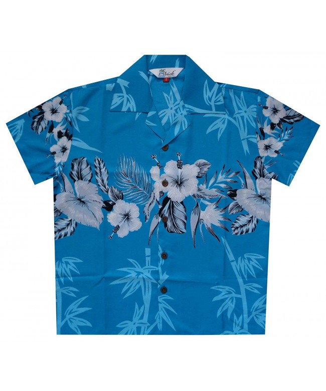 Hawaiian Shirts Bamboo Sleeve Holiday