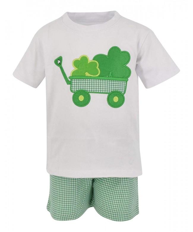 Unique Baby Clover Patricks Outfit