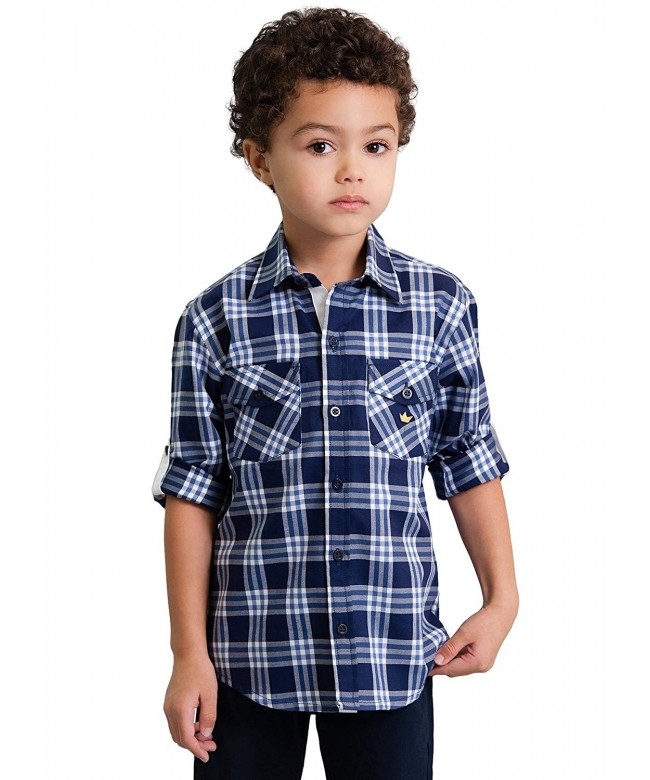 Dakomoda Toddler Boys Cotton Shirt