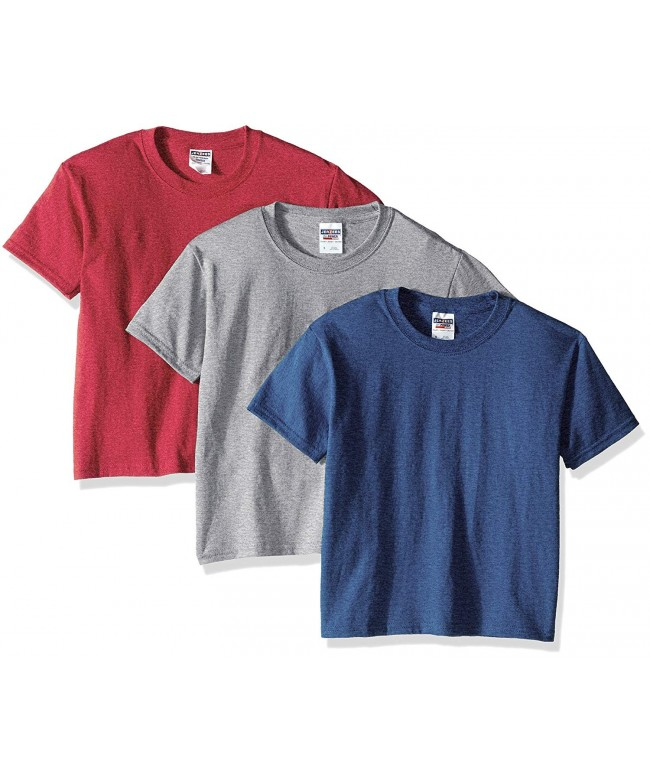 Jerzees Youth 3 Pack Crew Shirt