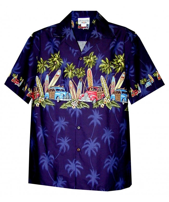 Pacific Legend Woodie Surfboard Shirt