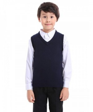 Fashion Boys' Sweater Vests Wholesale