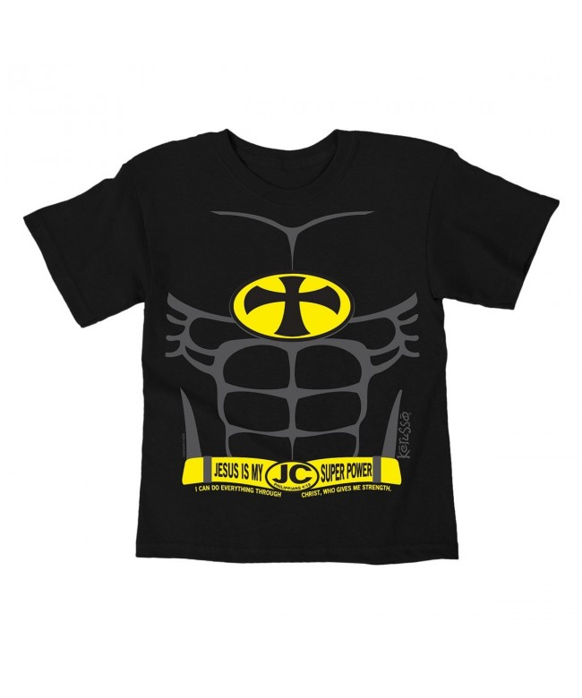 Kerusso Super Power Kids T Shirt